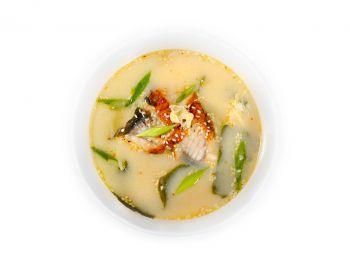 Суп с угрем (острый)